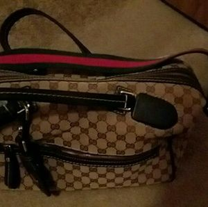 Overnight Gucci Bag NEVER USED!!